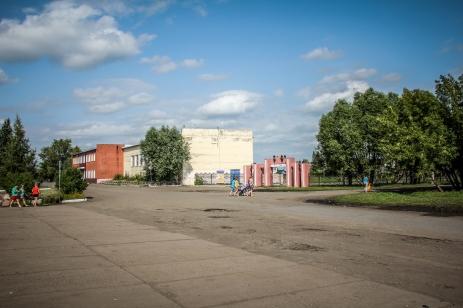 Quartierplatz im Nirgendwo