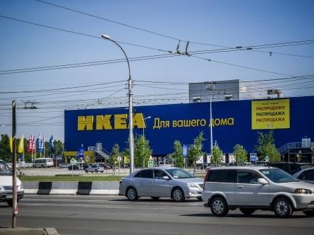Auch Ikea gibts in Russland