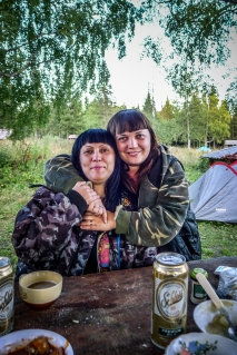 Die Mädels vom Camping